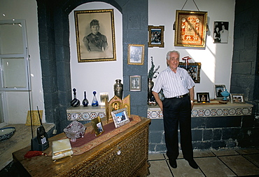 Elijah in his home, Damascus, Syria, Middle East