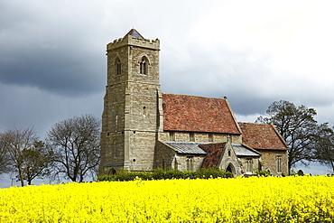 St. Andrew's Church, Wood Walton, Cambridgeshire, England, United Kingdom, Europe