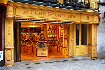 La Cure Gourmande biscuit shop, Madrid, Spain, Europe