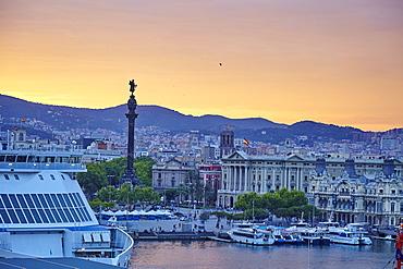 Barcelona Marina, Barcelona, Catalonia, Spain, Europe