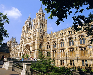 The Natural History Museum, South Kensington, London, England, UK