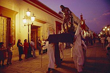 Easter procession, Oaxaca, Mexico, Central America