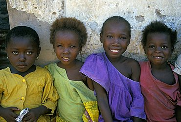 Children, the Gambia, West Africa, Africa