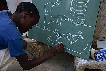 Literacy, Mozambique, Africa