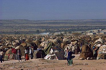 Gannet Refugee Camp, Somalia, Africa