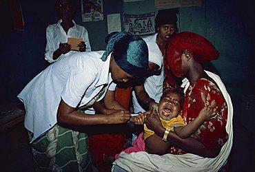 Immunisation, Somalia, Africa