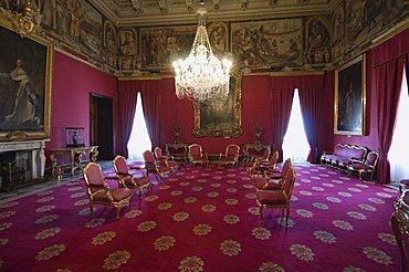 Room in the Grand Master's Palace, Valletta, Malta, Europe