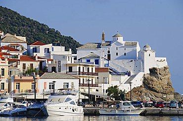 Skopelos Town, Skopelos, Sporades Islands, Greek Islands, Greece, Europe