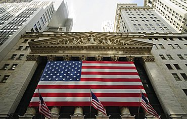 Stock Exchange, Financial district, Lower Manhattan, New York City, New York, United States of America, North America
