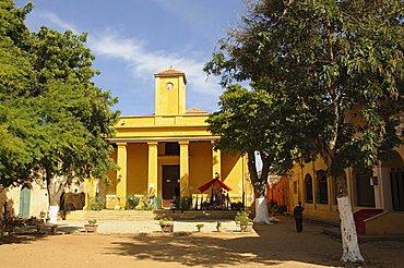 Goree Island famous for its role in slavery, near Dakar, Senegal, West Africa, Africa