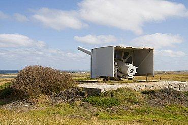 Old World War II gun, Port Stanley, Falkland Islands, South America