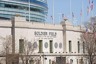 Soldier Field, Chicago, Illinois, United States of America, North America