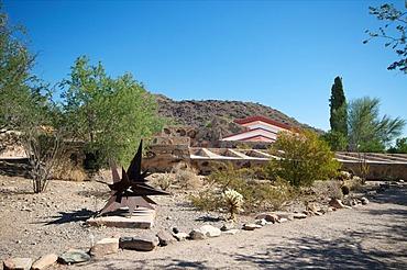 Taliesin West, personal home of Frank Lloyd Wright, near Phoenix, Arizona, USA