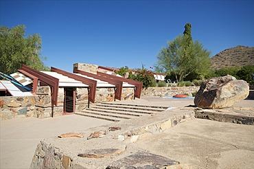 Taliesin West, personal home of Frank Lloyd Wright, near Phoenix, Arizona, United States of America, North America