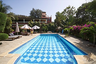 Ngala Lodge, situated between the resorts of Bakau and Fajara, near Banjul, Gambia, West Africa, Africa