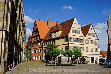 Dinkelsbuhl, Romantic Road, Franconia, Bavaria, Germany, Europe