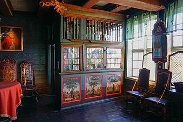 Hanseatic museum building, Bryggen, Bergen, Hordaland, Norway, Scandinavia, Europe