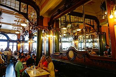 Majestic Cafe, Porto (Oporto), Portugal, Europe
