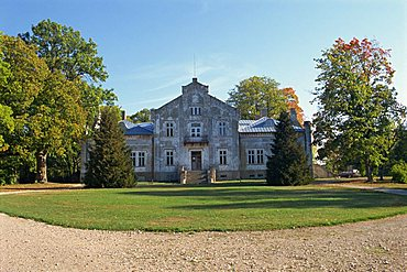 Old country estate, Muhu, an island to the west of Tallinn, Estonia, Baltic States, Europe