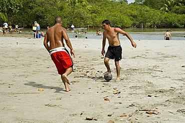 Public Beach, Manuel Antonio, Pacific Coast, Costa Rica, Central America
