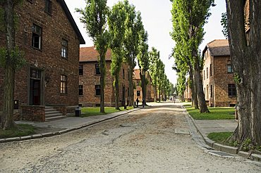 Auschwitz concentration camp, now a memorial and museum, UNESCO World Heritage Site, Oswiecim, near Krakow (Cracow), Poland, Europe