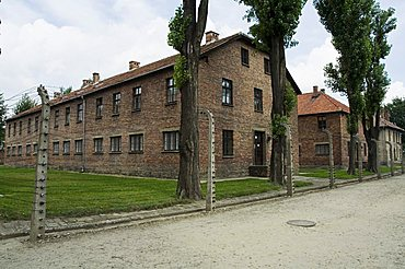 Auschwitz concentration camp, now a memorial and museum, UNESCO World Heritage Site, Oswiecim near Krakow (Cracow), Poland, Europe