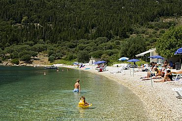 Poli Bay, Ithaka, Ionian Islands, Greek Islands, Greece, Europe