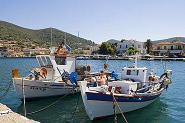 Vathy (Vathi), Ithaka, Ionian Islands, Greece, Europe