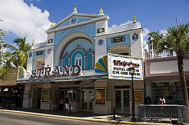 Movie theater converted into shop, Duval Street, Key West, Florida, United States of America, North America