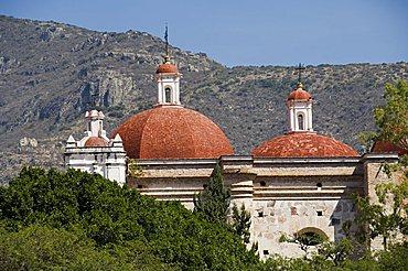 Church of San Pablo, Mitla, Oaxaca, Mexico, North America