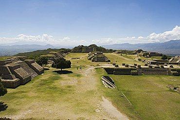 The ancient Zapotec city of Monte Alban, UNESCO World Heritage Site, near Oaxaca City, Oaxaca, Mexico, North America