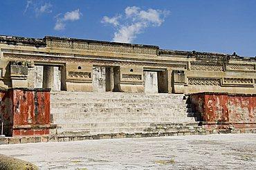 Palace of the Columns, Mitla, ancient Mixtec site, Oaxaca, Mexico, North America