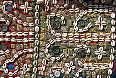 Cowries, beads and buttons, Cappadocia, Anatolia, Turkey, Asia Minor, Eurasia