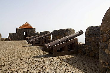 The Fortress of Sao Filipe, Santiago, Cape Verde Islands, Africa