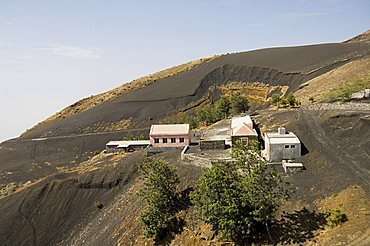 Countryside on way to the volcano, Fogo (Fire), Cape Verde Islands, Africa