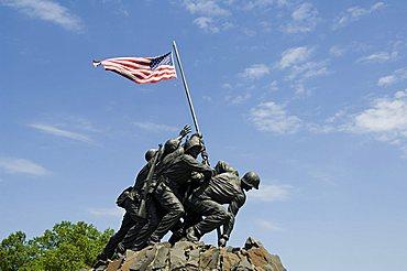 Iwo Jima Memorial, Arlington, Virginia, United States of America, North America