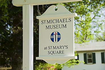 St. Michaels Museum, St Mary's Square, St. Michaels, Talbot County, Chesapeake Bay area, Maryland, United States of America, North America