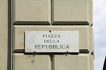 Piazza della Repubblica, Florence (Firenze), Tuscany, Italy, Europe