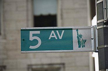 Fifth Avenue, Manhattan, New York, New York State, United States of America, North America