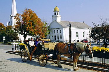 Manchester, Vermont, one of Americas oldest resorts.