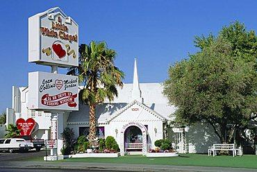 The Little White Chapel, Las Vegas, Nevada, USA