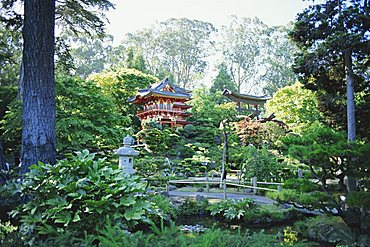 The Japanese Tea Garden, Golden Gate Park, San Francisco, California, USA, North America