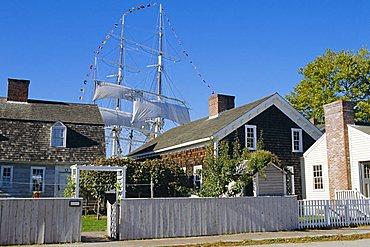 Living Maritime Museum, Mystic Seaport, Connecticut, USA