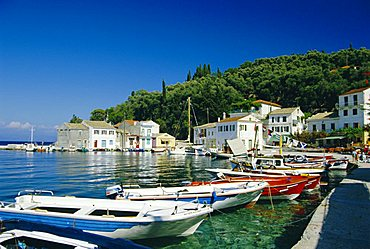 Loggos, Paxos, Ionian Islands, Greece, Europe