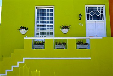 Malay Quarter (Bo-Kaap) Houses, Cape Town, South Africa