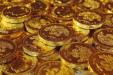 UK currency, pound coins