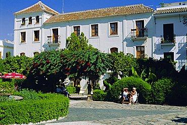 Plaza las Flores, Estepona, Andalucia, Spain