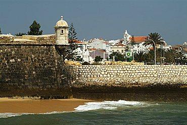 Fortaleza da Ponta da Bandeira, Lagos, Algarve, Portugal, Europe
