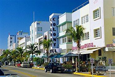 Ocean Drive, South Beach, Miami Beach, Florida, USA