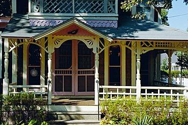 Cottage City, 19th c. cottages, Oak Bluffs, Martha's Vineyard, Massachusetts USA